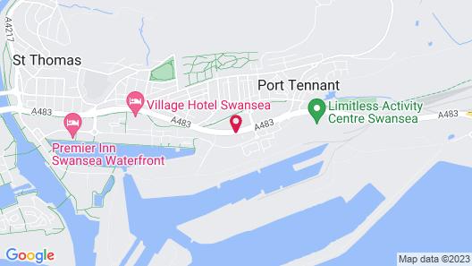 ibis Swansea Map