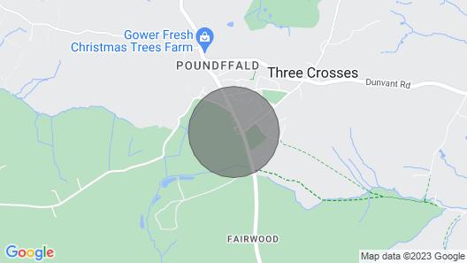 Tirmynydd Farm Cottage Map