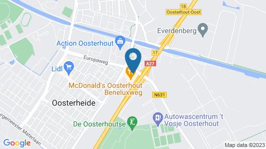 Gr8 Hotel Oosterhout Map