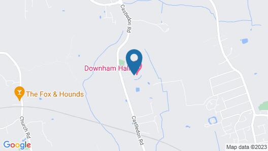 Downham Hall Map