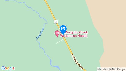 HI-Mosquito Creek Hostel Map
