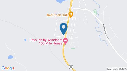 99 Mile Motel Map