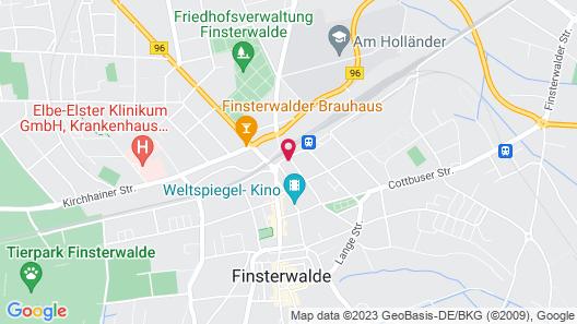 Gasthof Goldener Hahn Map