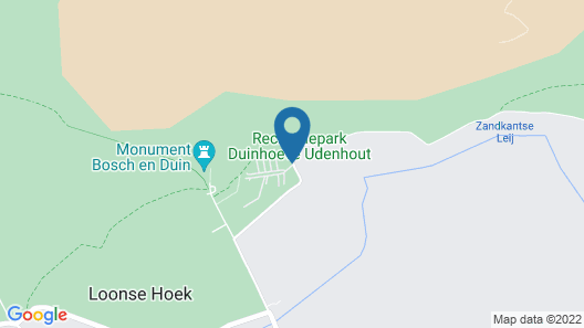 Well-furnished Chalet Near the Loonse and Drunense Duinen Map