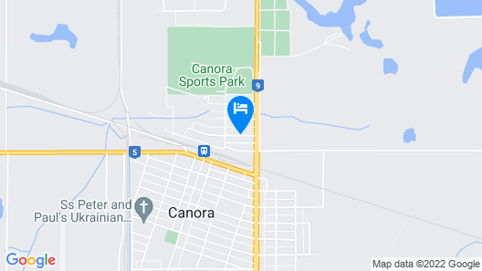 Canora Home Rentals Holiday Cottage Map