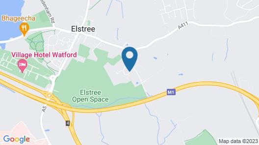 The Manor Elstree Map