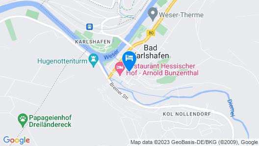 Hotel zum Schwan Map