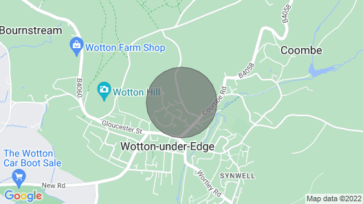 3 Bedroom Accommodation in Wotton-under-edge Map