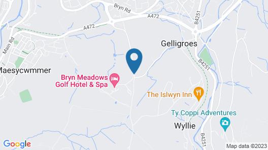 Bryn Meadows Golf, Hotel & Spa Map