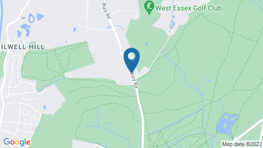 Gilwell Park Map