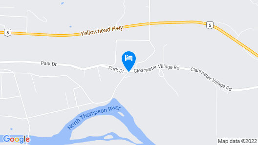 Overlook Inn & Cabins Map