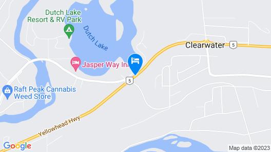 Wells Gray Inn Map