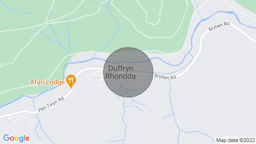 Afan Valley Escapes, Valley Views, The View Map