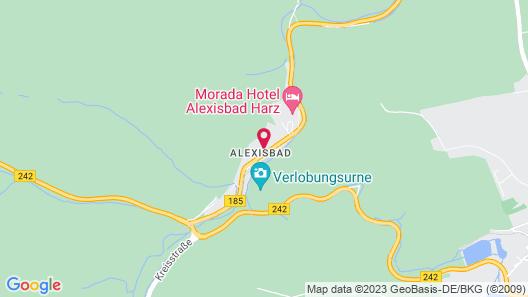 Vitalhotel Alexisbad Map