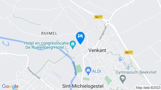 De Ruwenberg Hotel Meetings Events Map