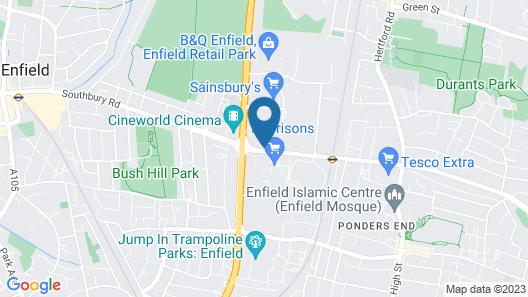 Southbury Apartments Map