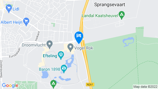 Efteling Hotel - Theme Park Tickets Included Map