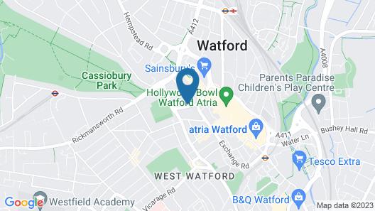 Upton Road Apartments Map