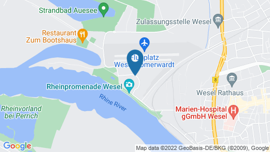 Welcome Hotel Wesel Map