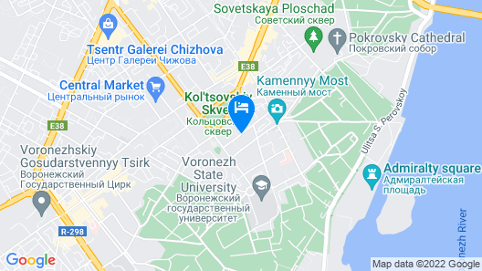 Art Hotel Map