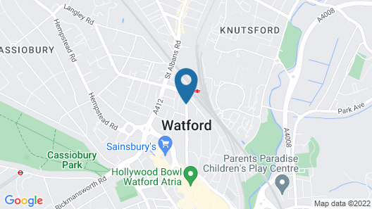 Holiday Inn London - Watford Junction Map