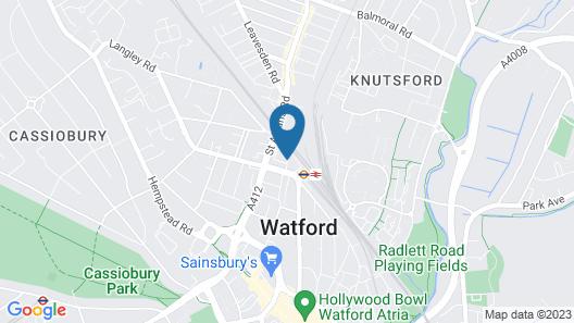 Holiday Inn Express London-Watford Junction Map