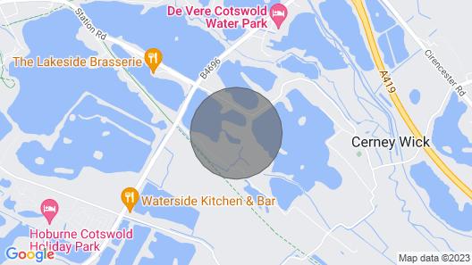 Waters Edge 03, Waters Edge Retreat Map