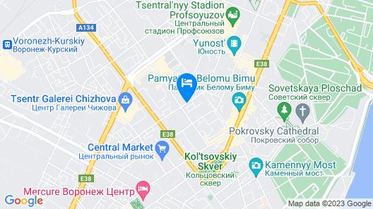 Megapolis Apartments on Nikitinskaya street 21 – apt 70 Map
