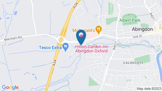 Hilton Garden Inn Abingdon Oxford Map