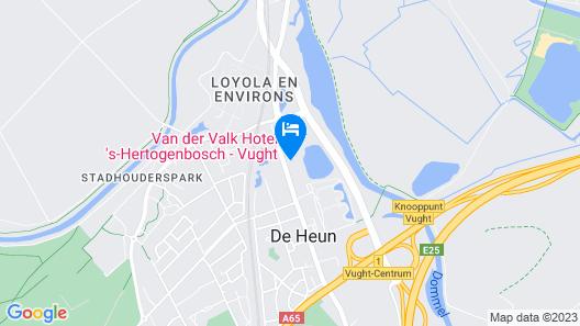 Van Der Valk Hotel 's-Hertogenbosch Map