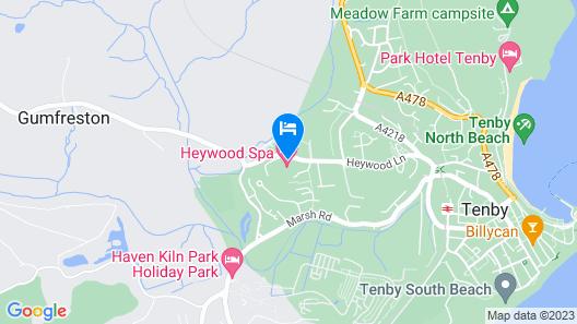 Heywood Spa Hotel Map