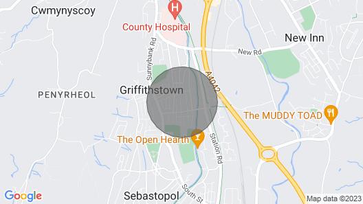 Home Near Castles & Super Hospital The Grange University Hospital Llanfrechfa Map