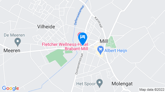 Fletcher Wellness-Hotel Brabant-Mill Map