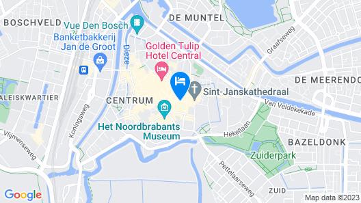 Best Western Plus City Centre Hotel Den Bosch Map