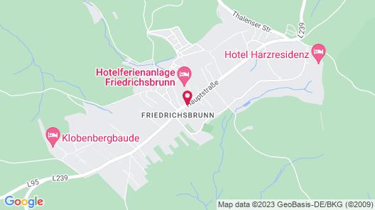 Hotelferienanlage Friedrichsbrunn Map
