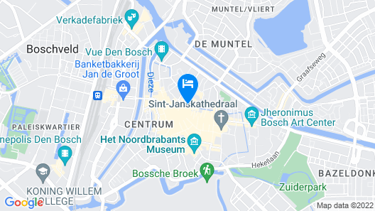 Golden Tulip Hotel Central Map