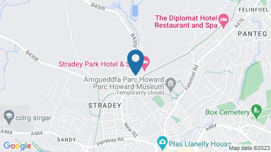 Stradey Park Hotel Map