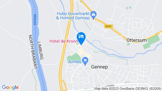 Hotel De Kroon Map