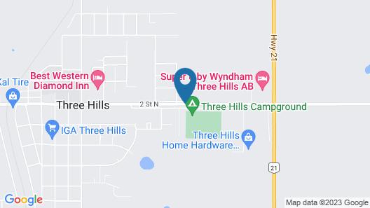 Lamplighter Inn Map