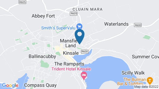 Luxury Kinsale Getaway Map