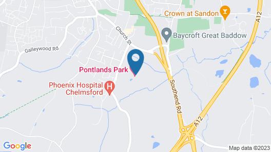 Pontlands Park Map
