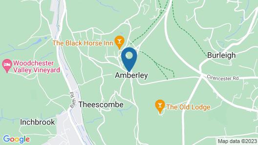 The Amberley Inn Map