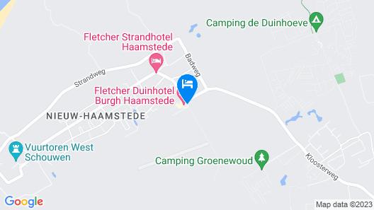 Fletcher Duinhotel Burgh Haamstede Map
