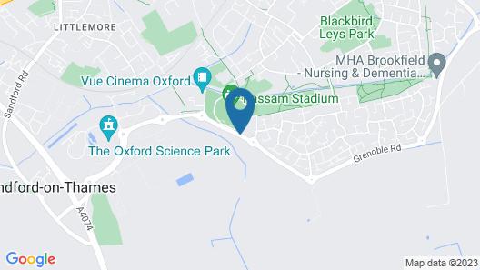 Holiday Inn Express Oxford-Kassam Stadium Map