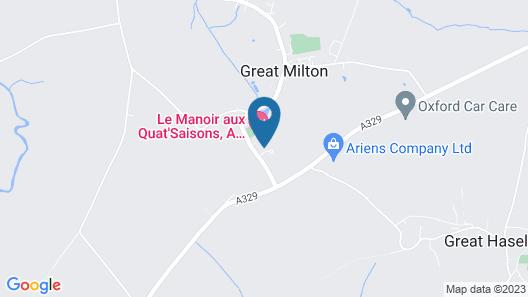 Le Manoir aux Quat'Saisons, A Belmond Hotel, Oxfordshire Map
