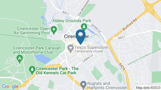Kings Head Hotel Map