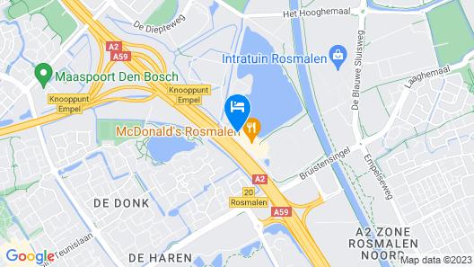 Fletcher Hotel-Restaurant's-Hertogenbosch Map