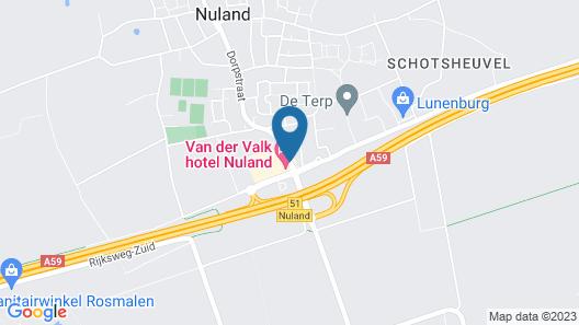 Van der Valk Hotel Nuland Map