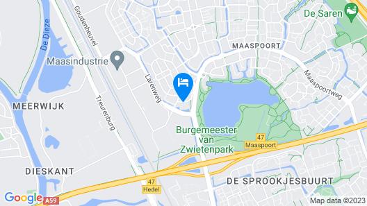 Campanile Hotel 's-Hertogenbosch Map