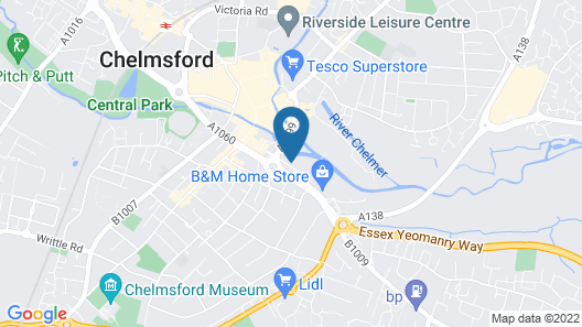 Chelmsford Serviced Apartments Map